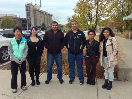 Leveraging resources from other programs to provide a full-range of support and professional development opportunities for students. Funding from the Wisconsin Alliance for Minority Participation was used to take students to attend a professional conference.