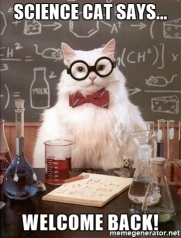 science-cat-says-welcome-back